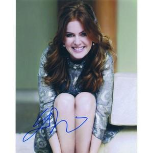 Isla Fisher Autograph Signed Photograph