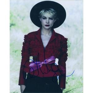 Carey Mulligan Autograph Signed Photograph
