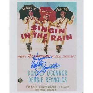 Debbie Reynolds 'Singin in the Rain' Autograph