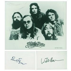 Steely Dan (Donald Fagan and Walter Becker Autographs