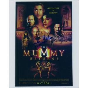Arnold Vosloo - Imhotep - The Mummy Returns' Autograph