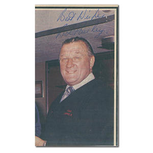Bob Paisley Liverpool FC Autograph Signed Photograph