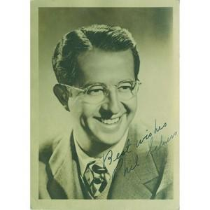 Phil Silvers Autograph Signed Photograph