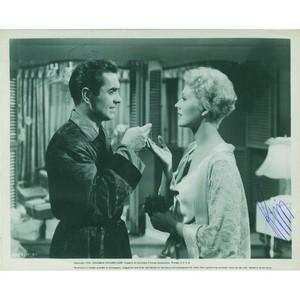 Tyrone Power and Kim Novak - Autograph Signed Photograph