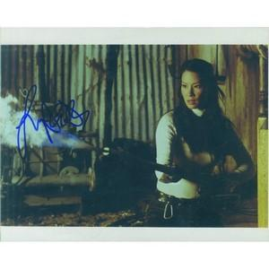 Lucy Liu Autograph Signed Photograph