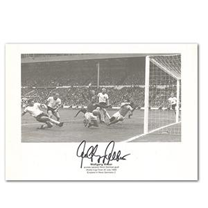 Wolfgang Weber Autograph - 1966 World Cup Final