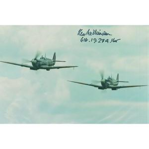 Ken Wilkinson - Signature  - Battle of Britain Spitfire Pilot