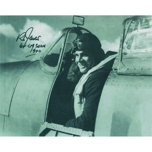 Richard Jones - Autograph -  Battle of Britain Spitfire Pilot