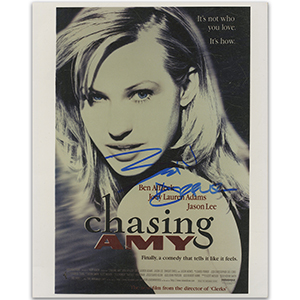 Ben Affleck 'Chasing Amy' Poster Autograph