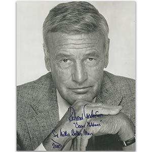 Richard Anderson Autograph Signed Photograph