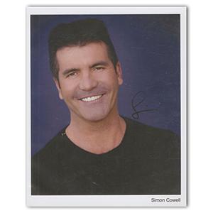 Simon Cowell Autograph Signed Photograph