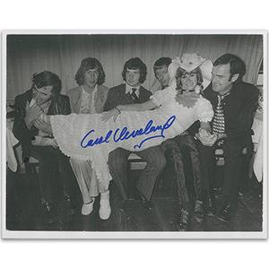 Carol Cleveland Autograph Signed Photograph
