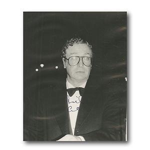 Michael Caine Autograph Signed Photograph