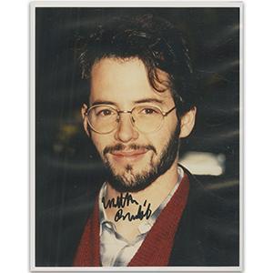 Matthew Broderick Autograph Signed Photograph