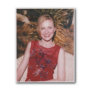 Kirsten Dunst Autograph Signed Photograph
