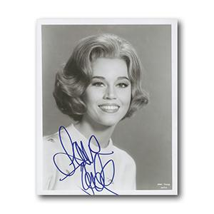 Jane Fonda Autograph Signed Photograph