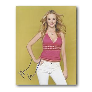 Heather Graham Autograph Signed Photograph