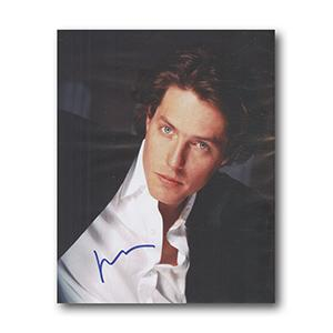 Hugh Grant Autograph Signed Photograph