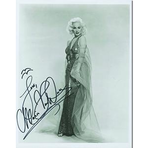Mamie Van Doren  Signed Photograph