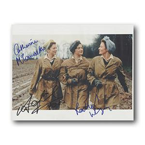 Land Girls - Weisz, Friel and McCormack Autograph Signed Photograph