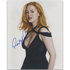 Rose McGowan Autograph Signed Photograph