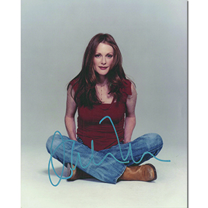 Julianne Moore Autograph Signed Photograph