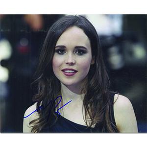 Ellen Page Autograph Signed Photograph