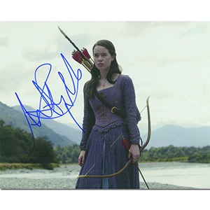 Anna Popplewell Autograph Signed Photograph
