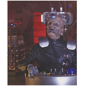 Julian Bleach Davros Doctor Who Autograph Signed Photograph