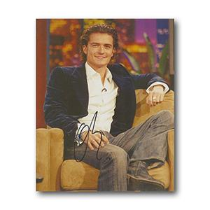 Orlando Bloom Autograph Signed Photograph