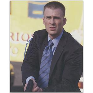 Chris Evans Autograph Signed Photograph