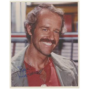 Mike Farrell Autograph Signed Photograph