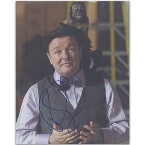 Ricky Gervais Autograph Signed Photograph