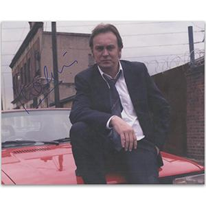 Philip Glenister Autograph Signed Photograph