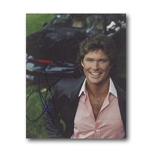 David Hasselhoff Autograph Signed Photograph