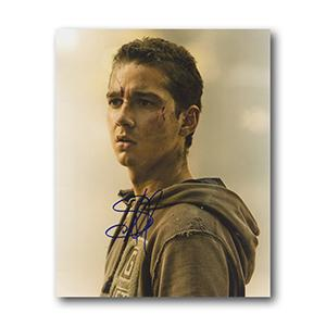 Shia LaBeouf  Autograph Signed Photograph