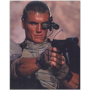 Dolph Lundgren Autograph Signed Photograph