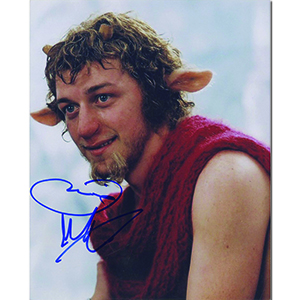 James McAvoy  Autograph Signed Photograph