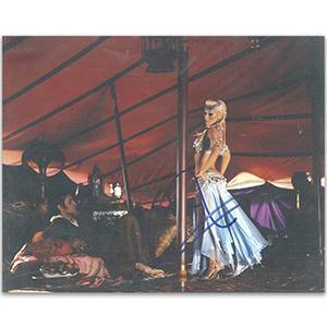 Christina Aguilera Autograph Signed Photograph