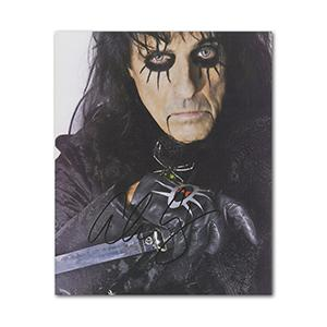 Alice Cooper Autograph Signed Photograph
