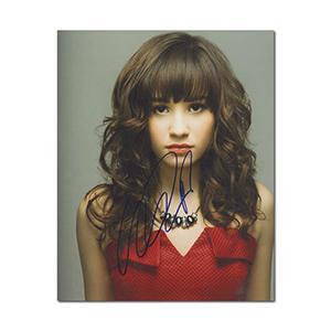 Demi Lovato Autograph Signed Photograph