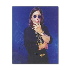 Ozzy Osbourne Autograph Signed Photograph