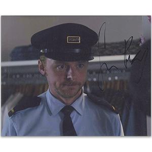Simon Pegg Autograph Signed Photograph