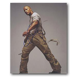Dwayne 'The Rock' Johnson  Autograph Signed Photograph