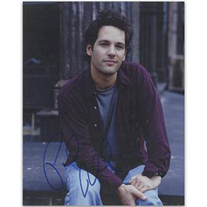 Paul Rudd Autograph Signed Photograph