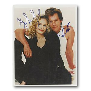Kyra Sedgwick and Kevin Bacon Autograph Signed Photograph