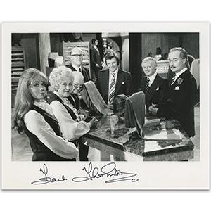Frank Thornton Autograph Signed Photograph