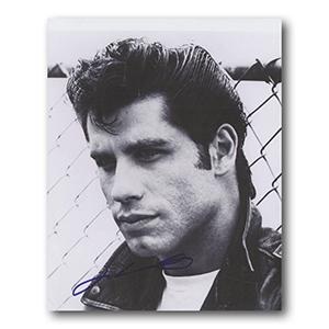 John Travolta Autograph Signed Photograph