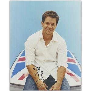 Mark Wahlberg Autograph Signed Photograph
