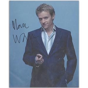 Marc Warren Autograph Signed Photograph